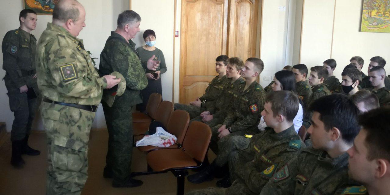 Урока мужества для кадетов Калужского кадетского многопрофильного техникума