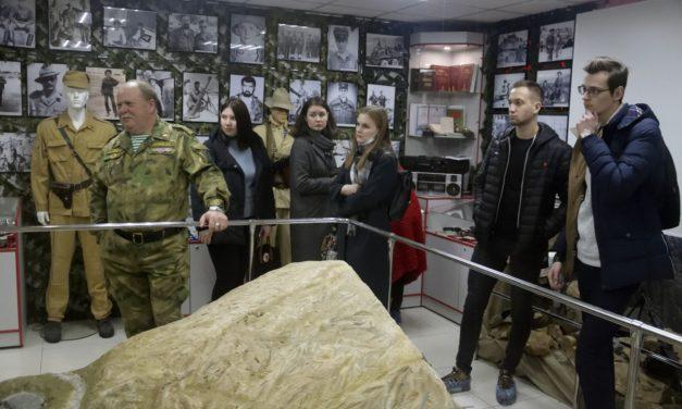 Экскурсия в Музее локальных войн и военных конфликтов